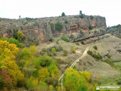 Valle de los Milagros-Cueva de la Hoz; agencias de viajes singles madrid rascafria camino del rey